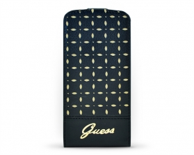 GUFLPMPEB Guess Flap case iPhone 5C černé