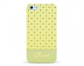 GUHCP5PEY Guess Gianina Zadní Kryt žlutý iPhone 5/5S