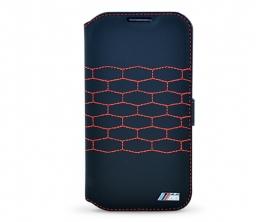 "BMW ""M"" Interior Seats Folio Pouzdro černá Samsung Galaxy S4"