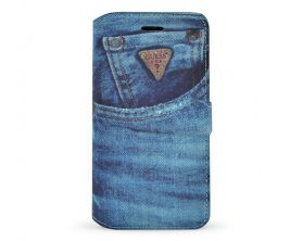 "Pouzdro Guess Denim Book pro Apple Iphone 6 4.7"" – jeans"