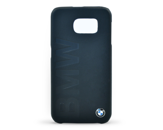 BMHCS6LOB BMW Signature Hard Case Leather Black pro Galaxy S6
