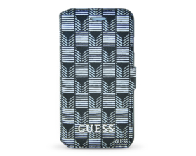 GUFLBKP6JSBKS Guess Jet Set Book Case černé Apple iPhone 6/6S