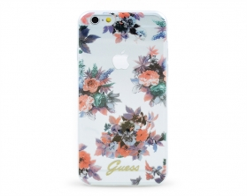 GUHCP6TRFLG Guess Blossom TPU Pouzdro Flower pro iPhone 6/6S