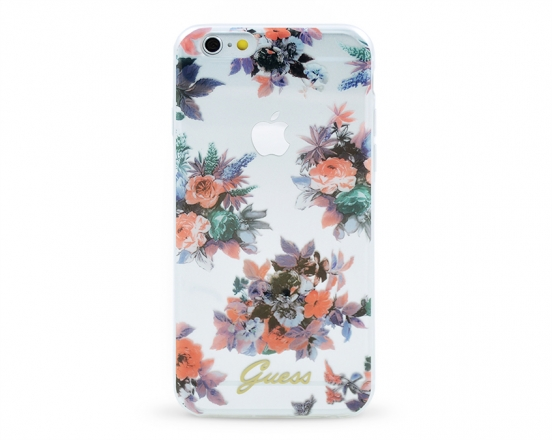 GUHCP6TRFLG Guess Blossom TPU Pouzdro Flower pro iPhone 6/6S