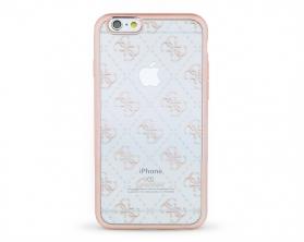 GUHCP6TR4GRG Guess 4G TPU Pouzdro Rose Gold pro iPhone 6/6S
