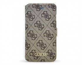 GUFLBKP64GB Guess 4G Uptow Book Pouzdro Apple iPhone 6/6S hnědé