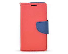 Book case Fancy Samsung Galaxy A3 červená/tmavě modrá