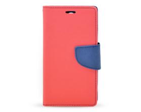 Book case Fancy LG G3 mini červená/tmavě modrá