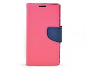 Book case Fancy LG G4 mini tmavě růžová/tmavě modrá
