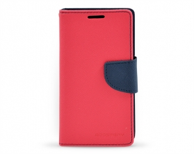 Fancy diary case Samsung Galaxy A3 2016 tmavě růžová/tmavě modrá