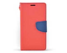 Book case Fancy LG G5 červená/tmavě modrá