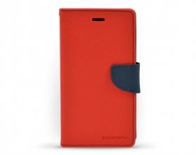 Fancy diary case iPhone 6S červená / tmavě modrá