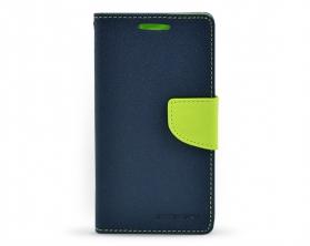 Fancy diary case Samsung Galaxy S4 tmavě modrá / limetková