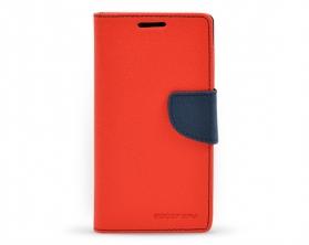 Fancy diary case Samsung Galaxy S4 červená / tmavě modrá