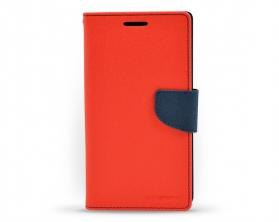 Fancy diary case Samsung Galaxy Note 4 červená / tmavě modrá