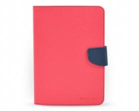 Fancy diary case iPad mini tmavě růžová / tmavě modrá