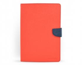 Fancy diary case iPad Air červená / tmavě modrá