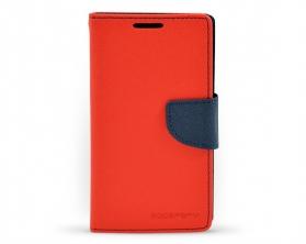 Fancy Diary Case Samsung Galaxy A5 červené / tmavě modré