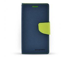 Pouzdro Mercury Fancy Diary pro Samsung Galaxy J3 tmavě modré/limetkové