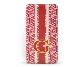 Powerbank Guess G-Cube Red 4800 mAh v červené barvě