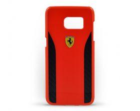 Kryt Daytona Ferrari pro Samsung Galaxy S7 Edge červenočerný