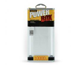 Powerbank Remax Vanguard 10 000 mAh ve stříbrné barvě