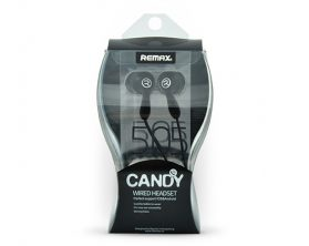 Sluchátka Remax RM-505 3,5 mm v černé barvě