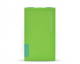 USAMS Power Bank 4000mAh – zelená