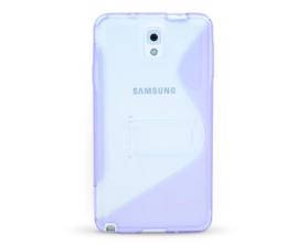 Back Cover S-case Samsung Galaxy Note 3 fialová/průhledná