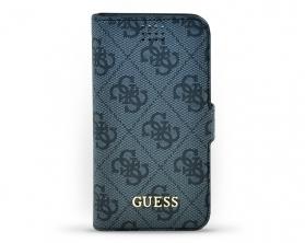 Univerzální pouzdro Guess 4G velikosti M v šedé barvě