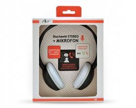 Sluchátka Mikro S1A černá pro telefon/MP3/tablet/notebook