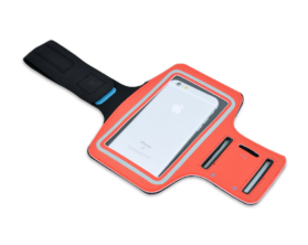 Pouzdro na ruku pro Samsung Galaxy Note 4 – červené