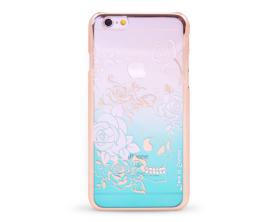 Kryt DEVIA Charm Swarovski Applr iPhone 6/6S zlatý