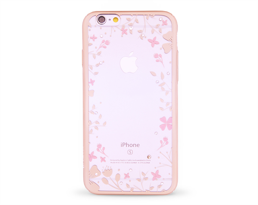 Kryt DEVIA Spring Swarovski Apple iPhone 6 6S zlatý - I love mobil 583f6668740