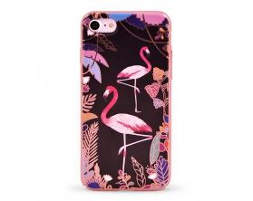 Kryt DEVIA Luxy Apple iPhone 7 plameňák růžový