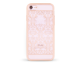 Kryt DEVIA Baroque Swarovski Apple iPhone 7 zlatý
