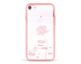 Kryt DEVIA Lotus Swarovski Apple iPhone 7 růžový