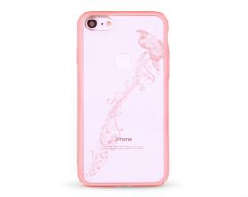 Kryt DEVIA Papillon Swarovski Apple iPhone 7 růžový
