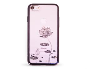 Kryt DEVIA Lotus Swarovski Apple iPhone 7 černý