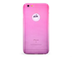 Kryt 360 protect hard case +ochranné sklo Apple iPhone 6 růžový/fialový