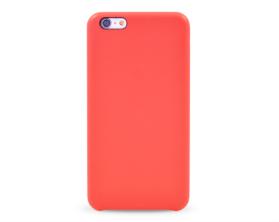 Kryt hard case kůže logo Apple iPhone 6 plus červený
