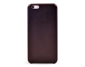 Kryt hard case kůže logo Apple iPhone 6 plus černý