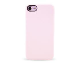 Kryt hard case kůže logo Apple iPhone 7 bílý