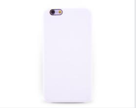Kryt hard case kůže logo Apple iPhone 6 bílý