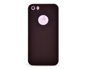 Kryt 360 protect hard case +ochranné sklo Apple iPhone 5 černý