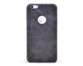 Kryt hard case kůže Apple iPhone 6 plus černý