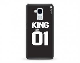 Kryt NORDTEN King 01 Huawei Honor 5C silikonový