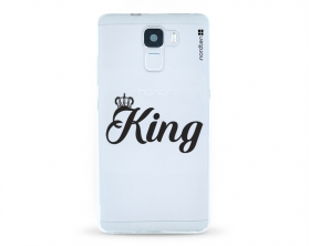 Kryt NORDTEN King Huawei Honor 7 silikonový