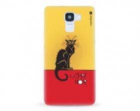 Kryt NORDTEN le chat noir Huawei Honor 7 silikonový