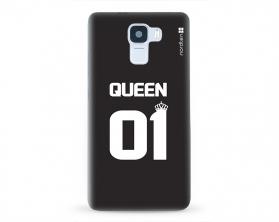 Kryt NORDTEN Queen 01 Huawei Honor 7 silikonový